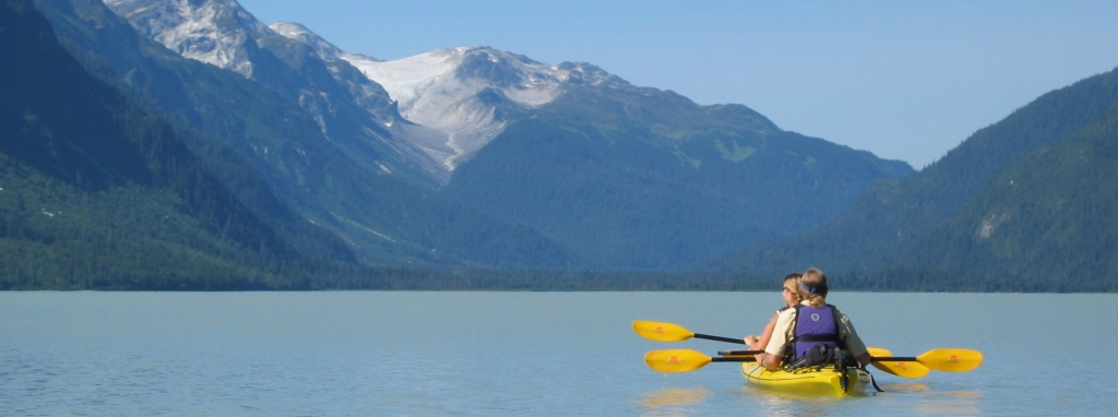 Wilderness Kayak Adventure on Chilkoot Lake