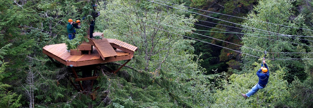 Skagway Adventure Park & Ziplines - 6 ziplines & fun for the whole family!