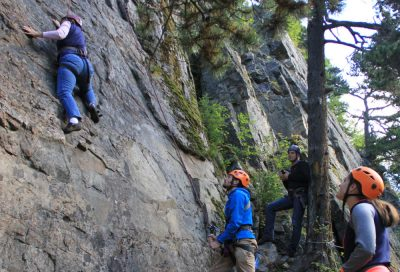 Rock Climbing in Skagway