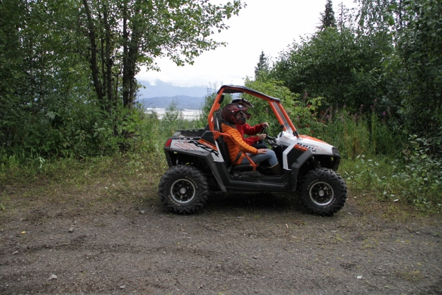 ATV tour into the Alaska backcountry