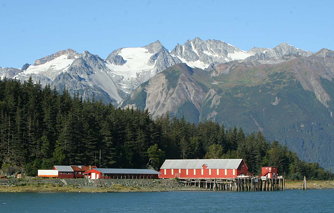 The Letnikof Cannery - oldest working Cannery in Alaska