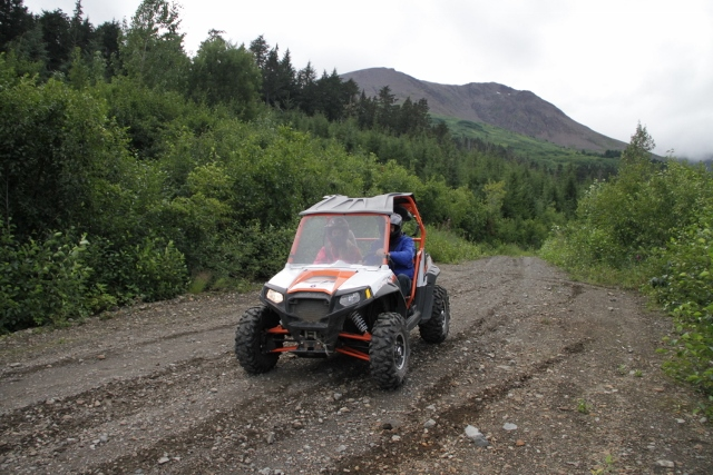 Last Frontier ATV tour journeys to backcountry outside of Haines, Alaska
