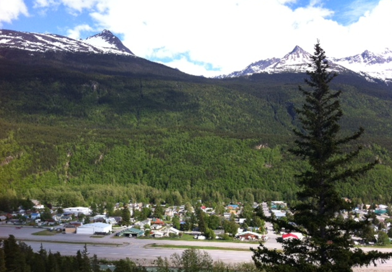 City of Skagway overlook
