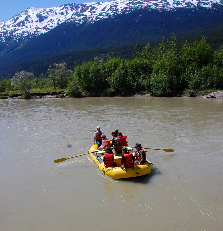 Rafting the Taiya River & Chilkoot Trail