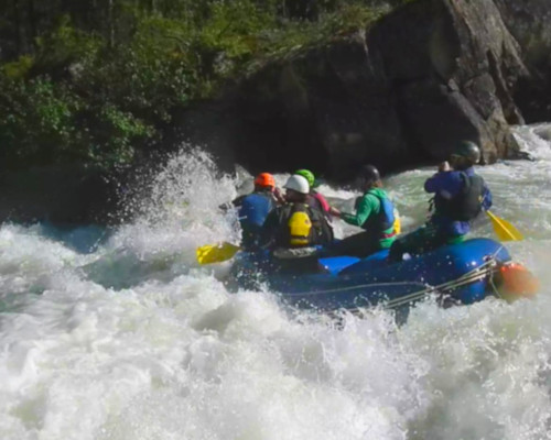 The Tutshi offers fund Class III - V Whitewater