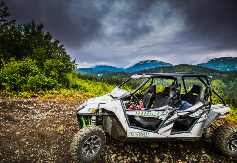 4-seater ATV's bring us above treeline