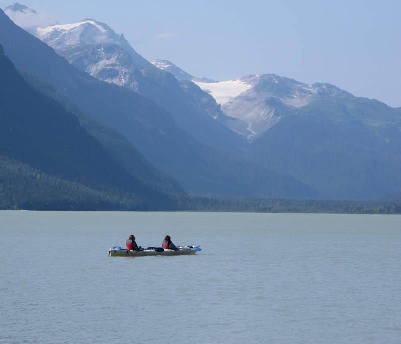 Journey to Haines for incredible kayaking experience on Chilkoot Lake