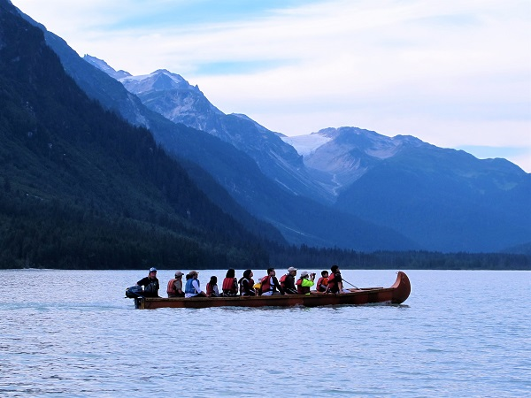 Chilkoot Lake Canoe Wildlife Safari