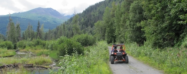 Last Frontier ATV Adventure - explore 15+ miles of remote Alaska backcountry
