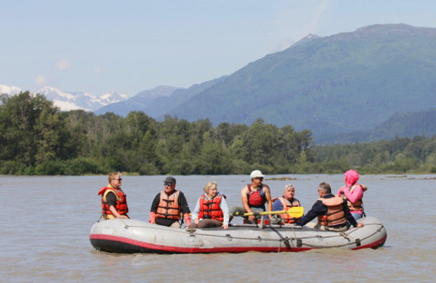 Float trip through the Chilkat Bald Eagle Preserve