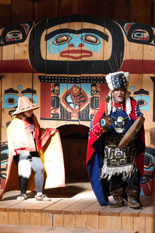 Experience Traditional Tlingit song & drumming