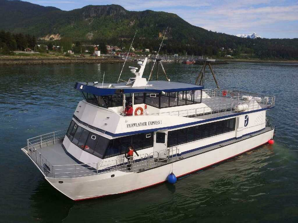 Fast Ferry from Skagway to Haines